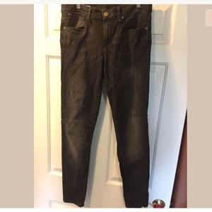 GAP Black Legging Jean Super Stretch Sz 10 Fall